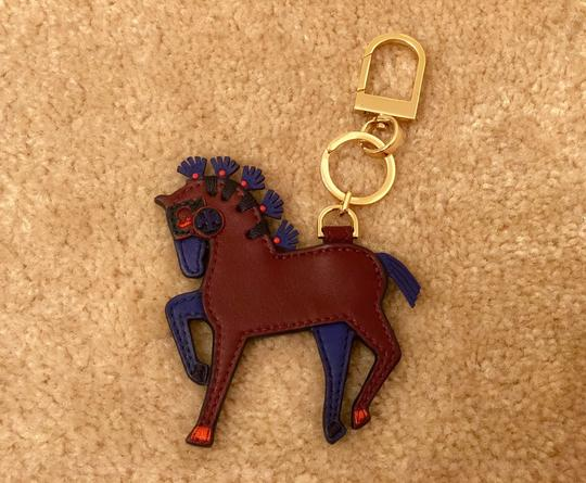 Tory Burch Hank the Horse Keychain/Bag Charm Image 1