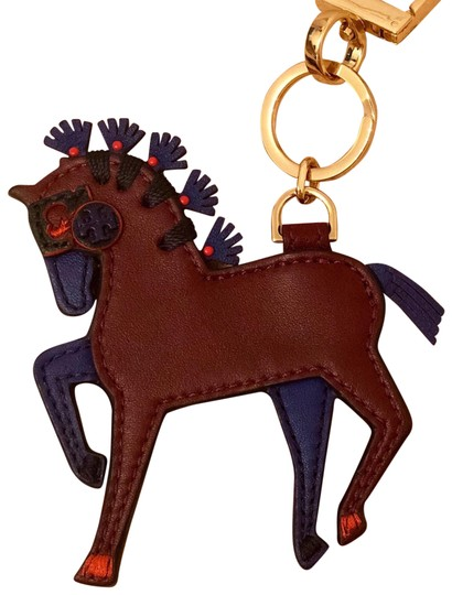 Tory Burch Hank the Horse Keychain/Bag Charm Image 0