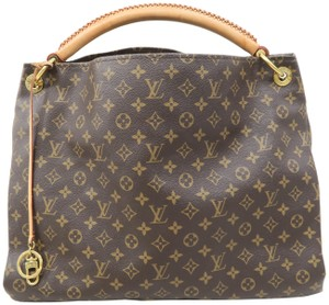Louis Vuitton Arsty Monogram Canvas Gm Hobo Bag