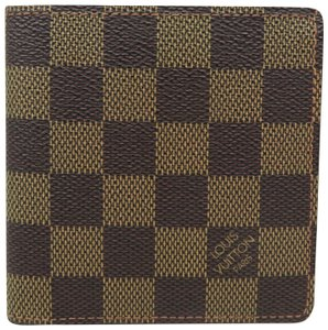 Louis Vuitton Louis Vuitton Brown Damier Ebene Canvas Wallet