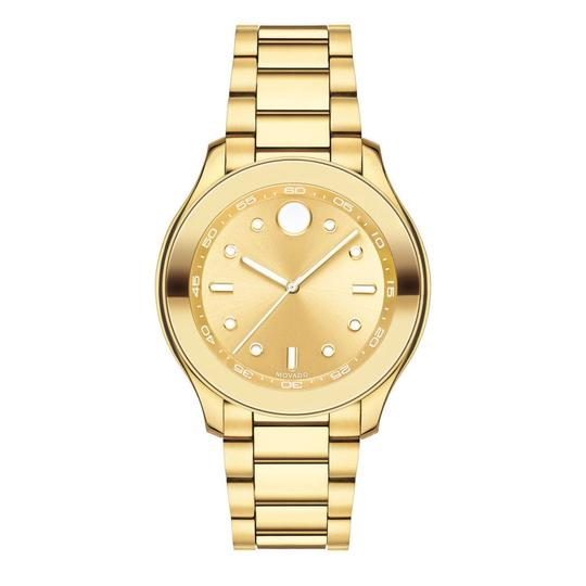 Preload https://img-static.tradesy.com/item/26006137/movado-gold-stainless-steel-bracelet-3600416-watch-0-0-540-540.jpg