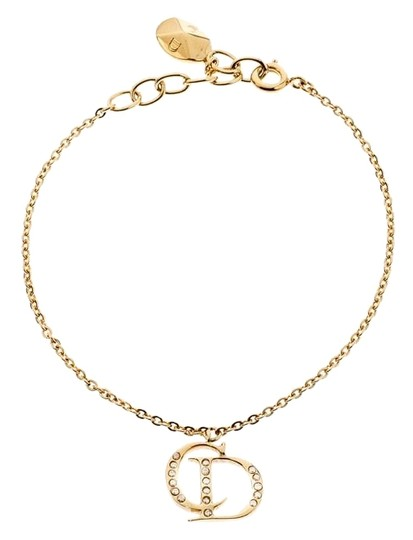 Preload https://img-static.tradesy.com/item/26006203/dior-gold-cd-crystal-tone-charm-bracelet-0-4-540-540.jpg
