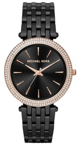 Michael Kors Darci Stainless Rose Gold Crystal Glitz MK3407