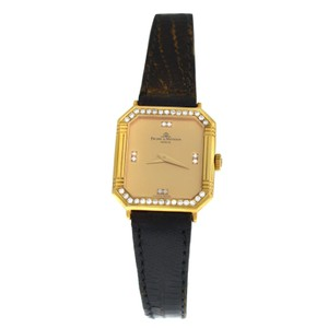 Baume & Mercier Ladies' Vintage Baume & Mercier 18K Yellow Gold Diamond Quartz 2