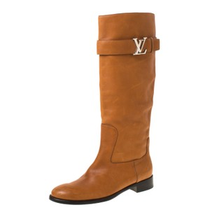 Louis Vuitton Leather Legacy Brown Boots