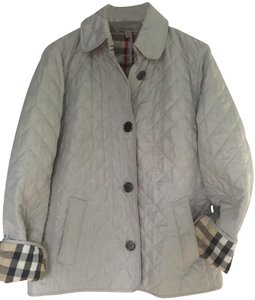 Burberry Quilted Grey Jacket