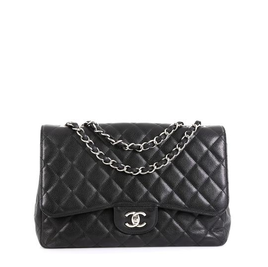 Preload https://img-static.tradesy.com/item/26007131/chanel-classic-flap-vintage-classic-single-quilted-caviar-jumbo-black-leather-shoulder-bag-0-0-540-540.jpg