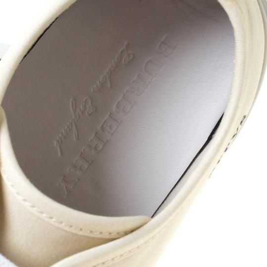 Burberry Canvas Leather Rubber Cream Athletic Image 6