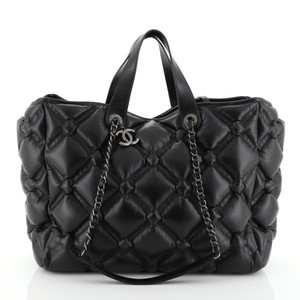 Chanel Chesterfield Tote in black