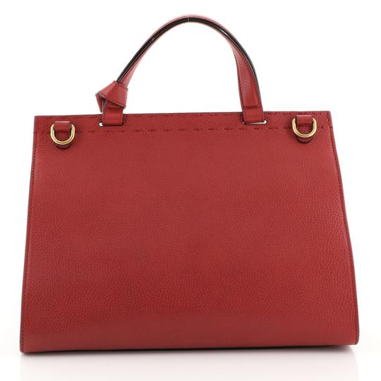 Gucci Gg Marmont Top Handle Satchel in red Image 2