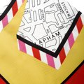 Burberry Burberry Bright Yellow London Map Print Silk Twill Square Scarf Image 4