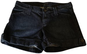 Banana Republic Cuffed Shorts Dark Denim