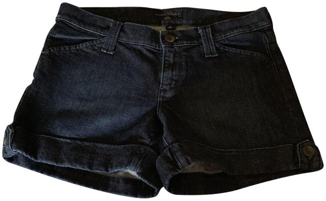 Banana Republic Cuffed Shorts Dark Denim Image 0