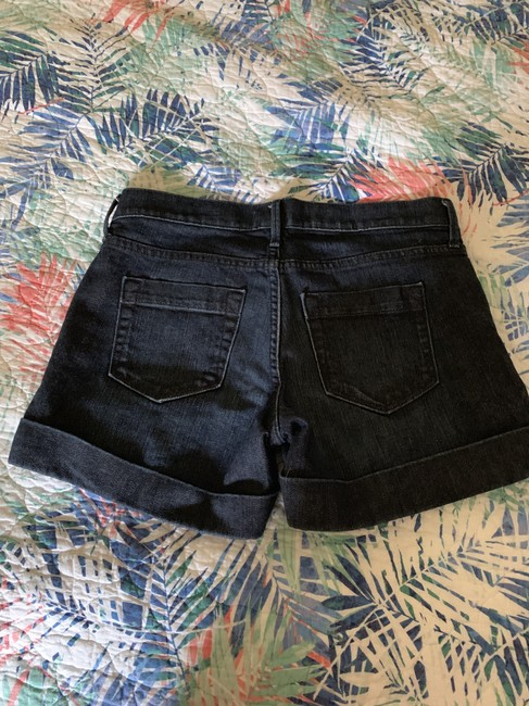 Banana Republic Cuffed Shorts Dark Denim Image 1