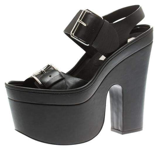 Preload https://img-static.tradesy.com/item/26007375/stella-mccartney-black-faux-leather-heel-platform-sandals-size-eu-38-approx-us-8-regular-m-b-0-3-540-540.jpg