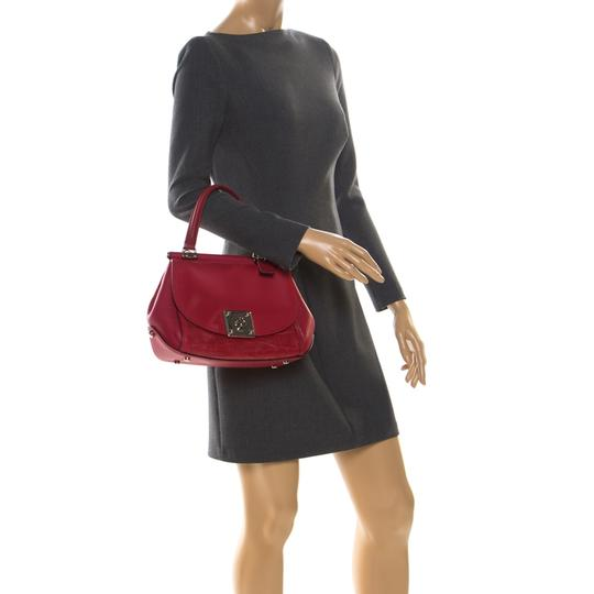 Coach Leather Red Clutch Image 2