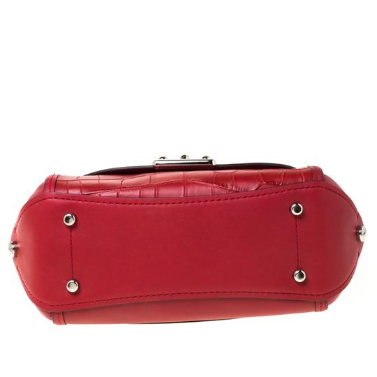 Coach Leather Red Clutch Image 5