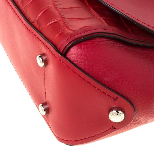 Coach Leather Red Clutch Image 6