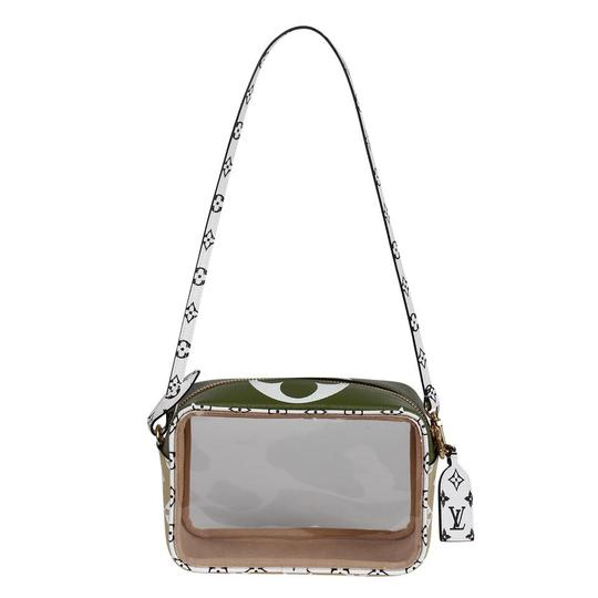 Louis Vuitton See Through Translucent Camera Clear Shoulder Bag Image 1