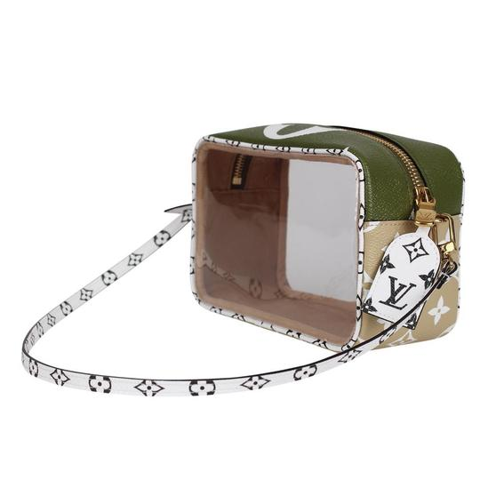 Louis Vuitton See Through Translucent Camera Clear Shoulder Bag Image 3