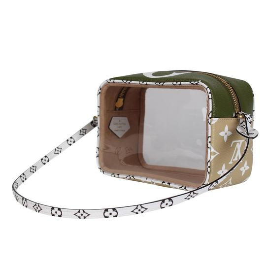 Louis Vuitton See Through Translucent Camera Clear Shoulder Bag Image 6