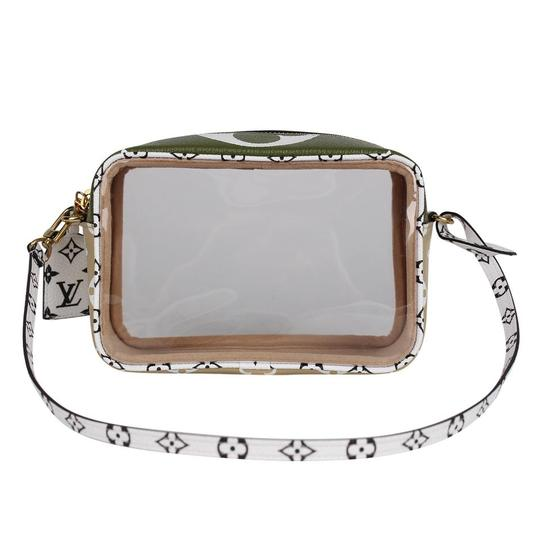Louis Vuitton See Through Translucent Camera Clear Shoulder Bag Image 7
