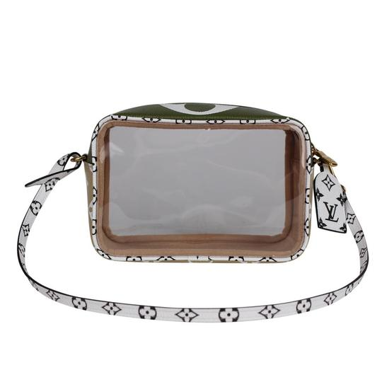 Louis Vuitton See Through Translucent Camera Clear Shoulder Bag Image 8