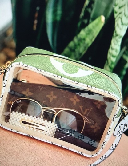 Louis Vuitton See Through Translucent Camera Clear Shoulder Bag Image 9