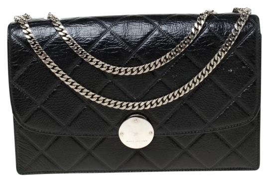 Marc Jacobs Patent Leather Quilted Shoulder Bag Image 0