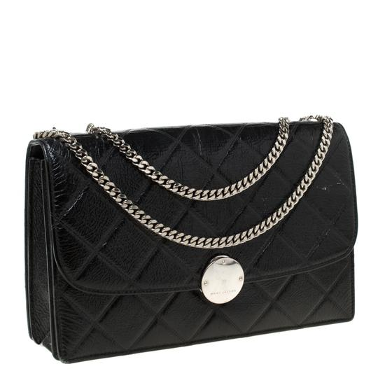 Marc Jacobs Patent Leather Quilted Shoulder Bag Image 3