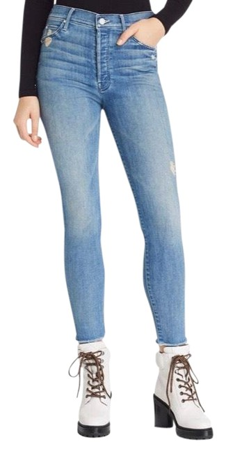 Preload https://img-static.tradesy.com/item/26007423/mother-light-wash-graffiti-girl-the-stunner-ankle-fray-lover-skinny-jeans-size-2-xs-26-0-3-650-650.jpg
