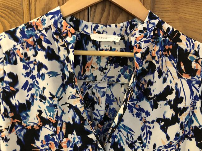 Lush Fall Summer Work Top Multicolored Image 2