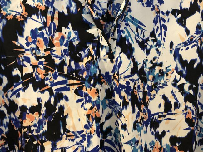Lush Fall Summer Work Top Multicolored Image 4