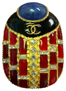Chanel Chanel Limited Edition Beetle Egypt Brooch