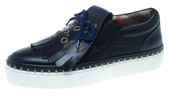 Preload https://img-static.tradesy.com/item/26007550/burberry-blue-navy-leather-kiltie-fringe-slip-on-sneakers-size-eu-395-approx-us-95-regular-m-b-0-1-540-540.jpg