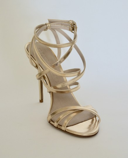 Burberry Wedges Prorsum Python Gold Sandals Image 2