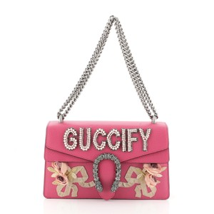 Gucci Dionysus Leather Shoulder Bag