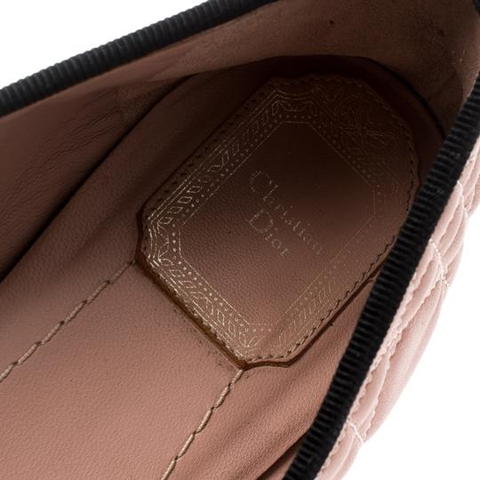 Dior Leather Quilted Ballet Beige Flats Image 6