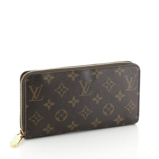 Louis Vuitton Zippy Wallet Monogram Wristlet in brown Image 1