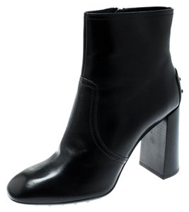 Tod's Leather Black Boots