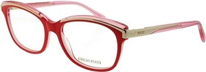 Emilio Pucci EP5037-066-53 Eyeglasses Size 53mm 16mm 135mm Red