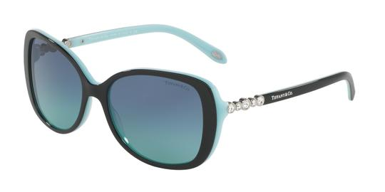 Tiffany & Co. Tiffany&Co Women's Sunglasses TF4121BF 55mm 80559S Black/Blue Image 2