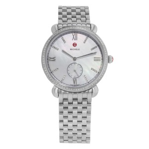 Michele Gracile Diamond .40CTTW MOP Dial Quartz Ladies Watch MWW26A000001