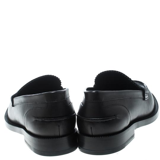 Burberry Leather Penny Black Flats Image 2