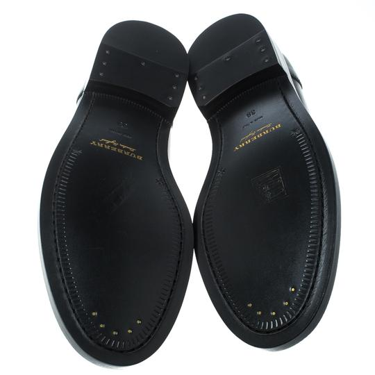 Burberry Leather Penny Black Flats Image 3