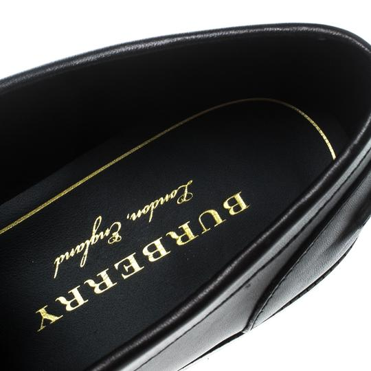Burberry Leather Penny Black Flats Image 6