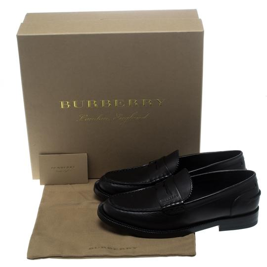 Burberry Leather Penny Black Flats Image 7