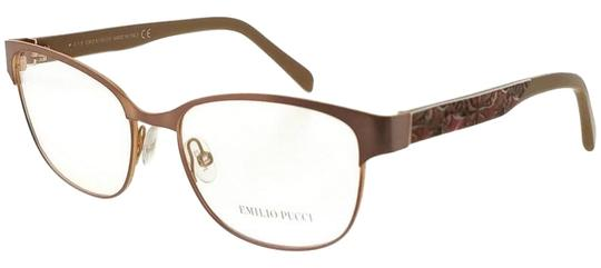 Emilio Pucci EP5016-074-53 Eyeglasses Size 53mm 16mm 135mm Brown Image 0