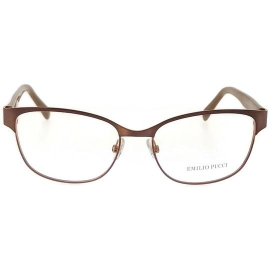 Emilio Pucci EP5016-074-53 Eyeglasses Size 53mm 16mm 135mm Brown Image 1
