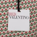 RED Valentino Wool Knit Longsleeve Viscose Floral Sweater Image 6